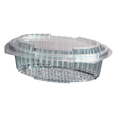 ensaladera ovalada microondable plastico desechable