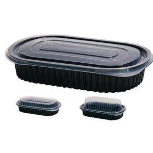 ensaladera plastico desechable deluxe ovaladas