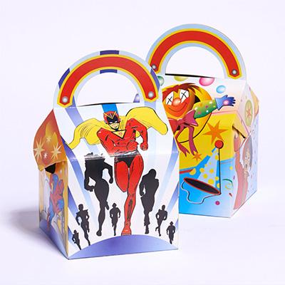 Caja menu infantil y picnic comercial jimara for Caja almacenaje infantil