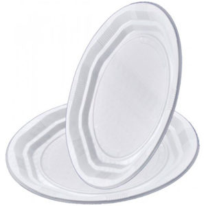 Platos de plástico reforzados PS