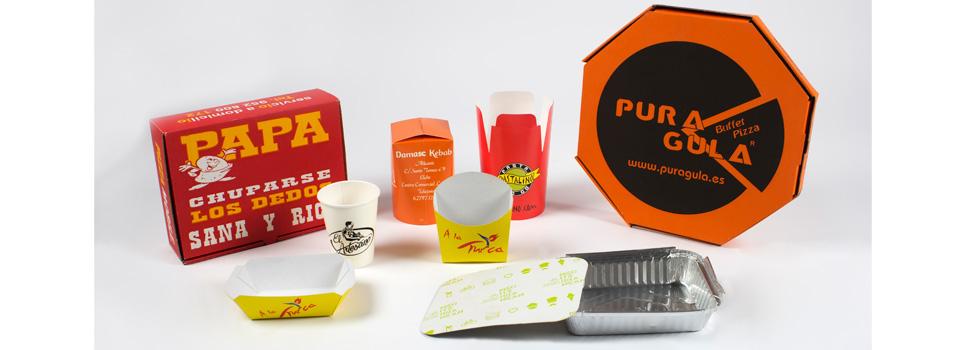 Envases de cartón personalizables