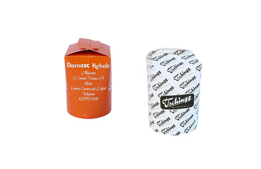 Envase multifuncion carton take away comercial jimara - Envases take away ...