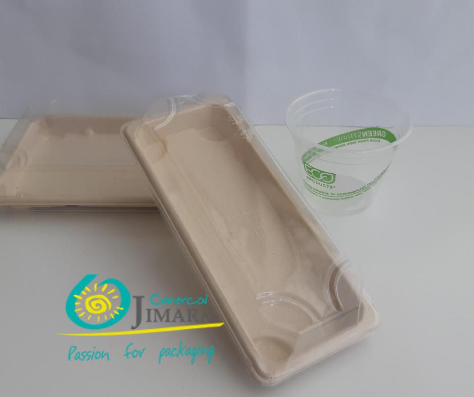 bandejas especiales sushi envases Jimara Packaging