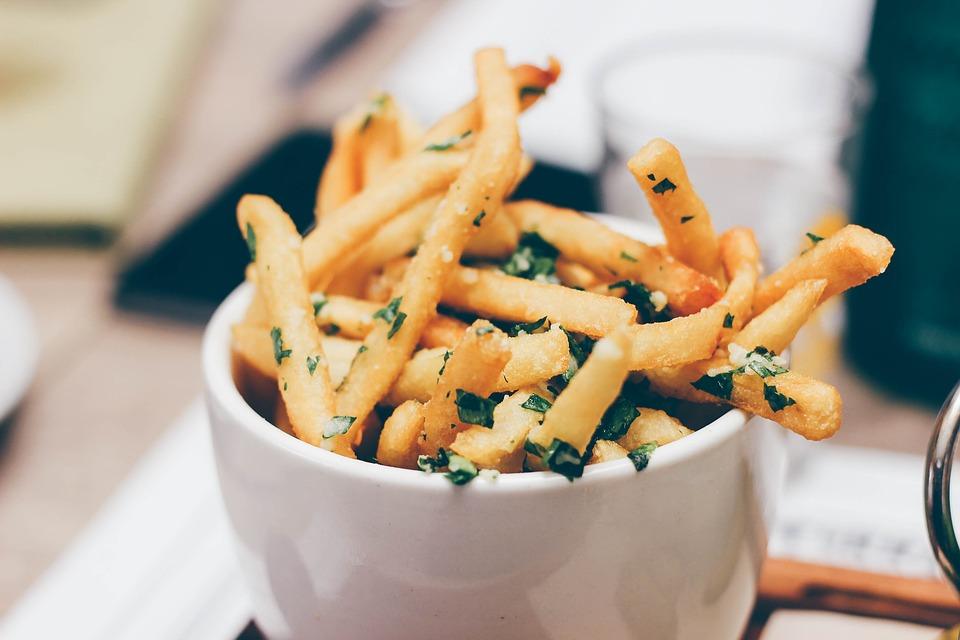 origen de las patatas fritas historia