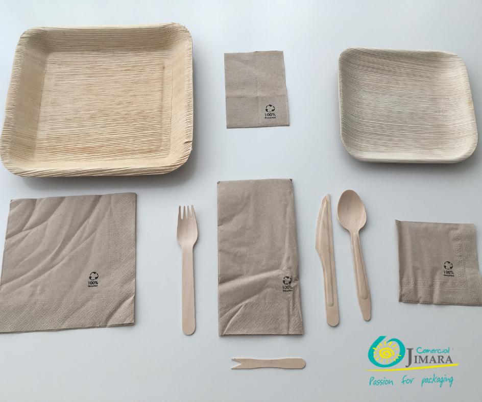 envases biodegradables y compostables para restaurantes