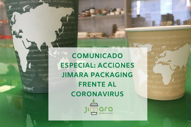 Comunicado especial Jimara Packagig frente al Coronavirus