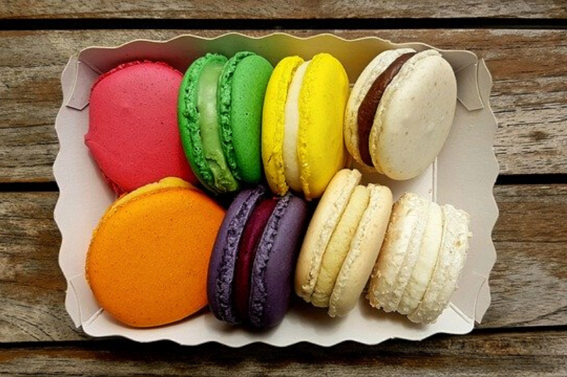 macarons, origen de una receta francesa