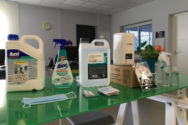 productos de proteccion frente al coronavirus jimara packaging