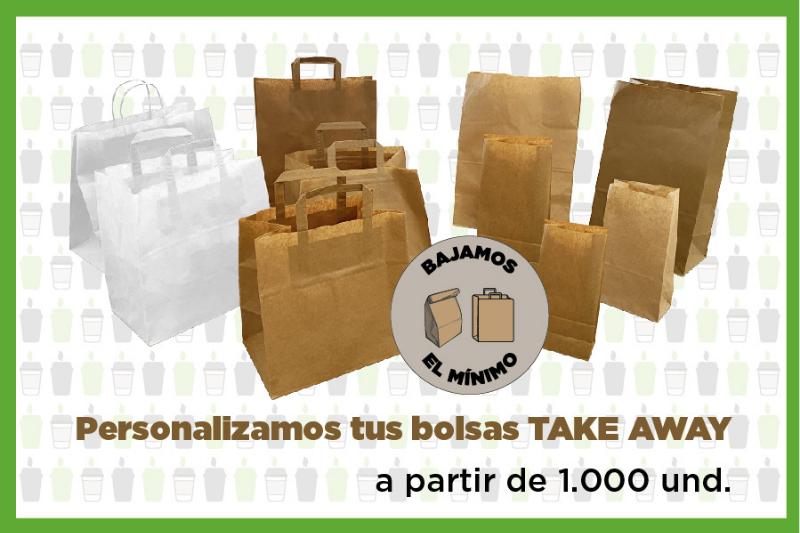 bolsas take away personalizadas