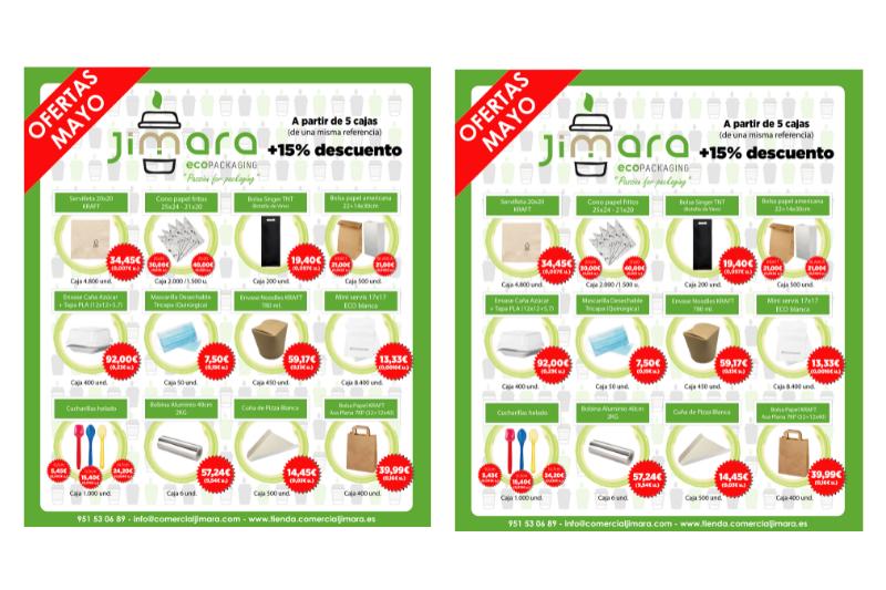 ofertas envases restaurantes jimara packaging
